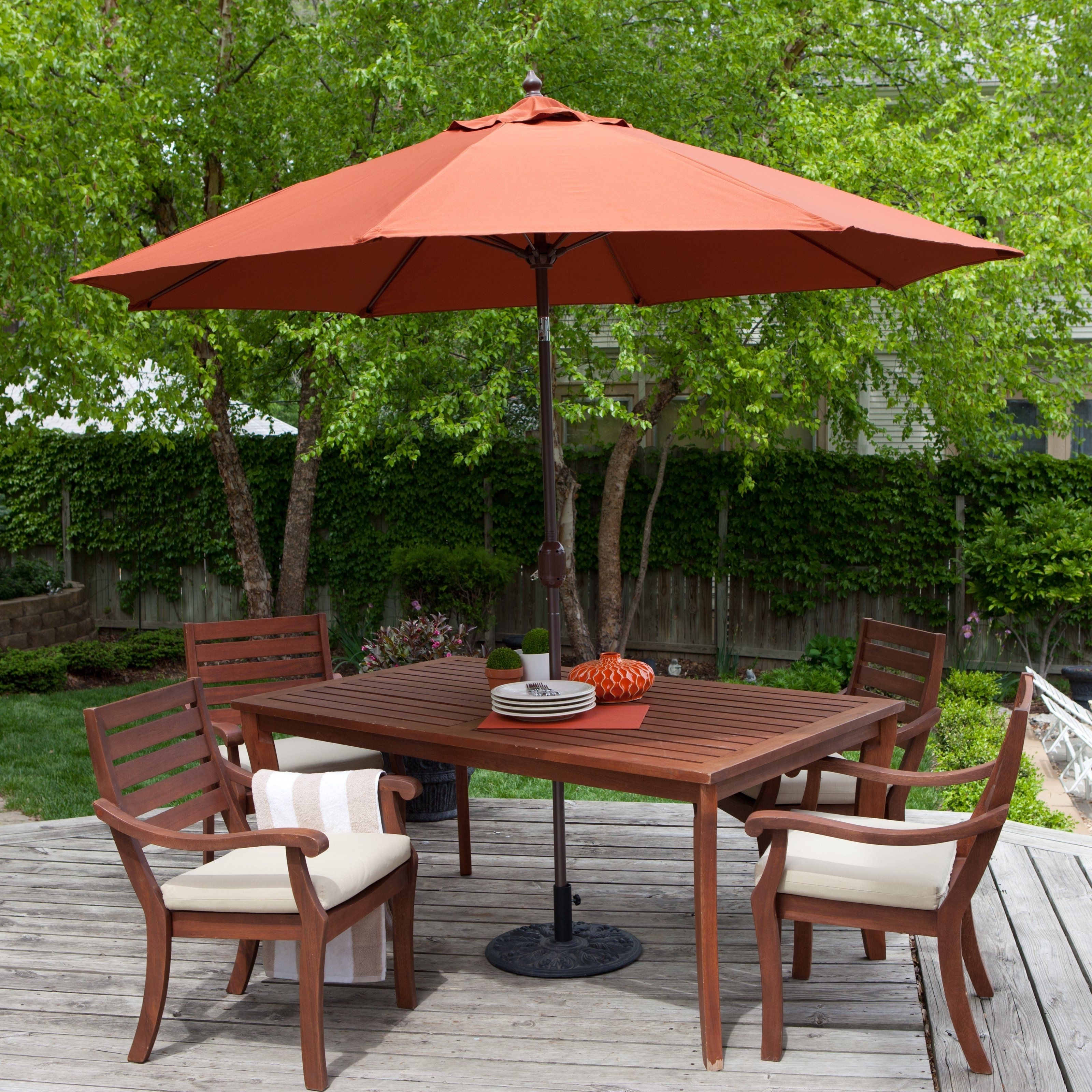 2018 Commercial Patio Umbrellas Wind Resistant Awesome Eclipse Collection Within Eclipse Patio Umbrellas (View 1 of 20)
