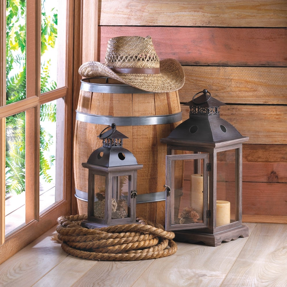 2018 Decorative Candle Lanterns, Decorative Monticello Hanging Candle In Outdoor Lanterns Decors (View 15 of 20)