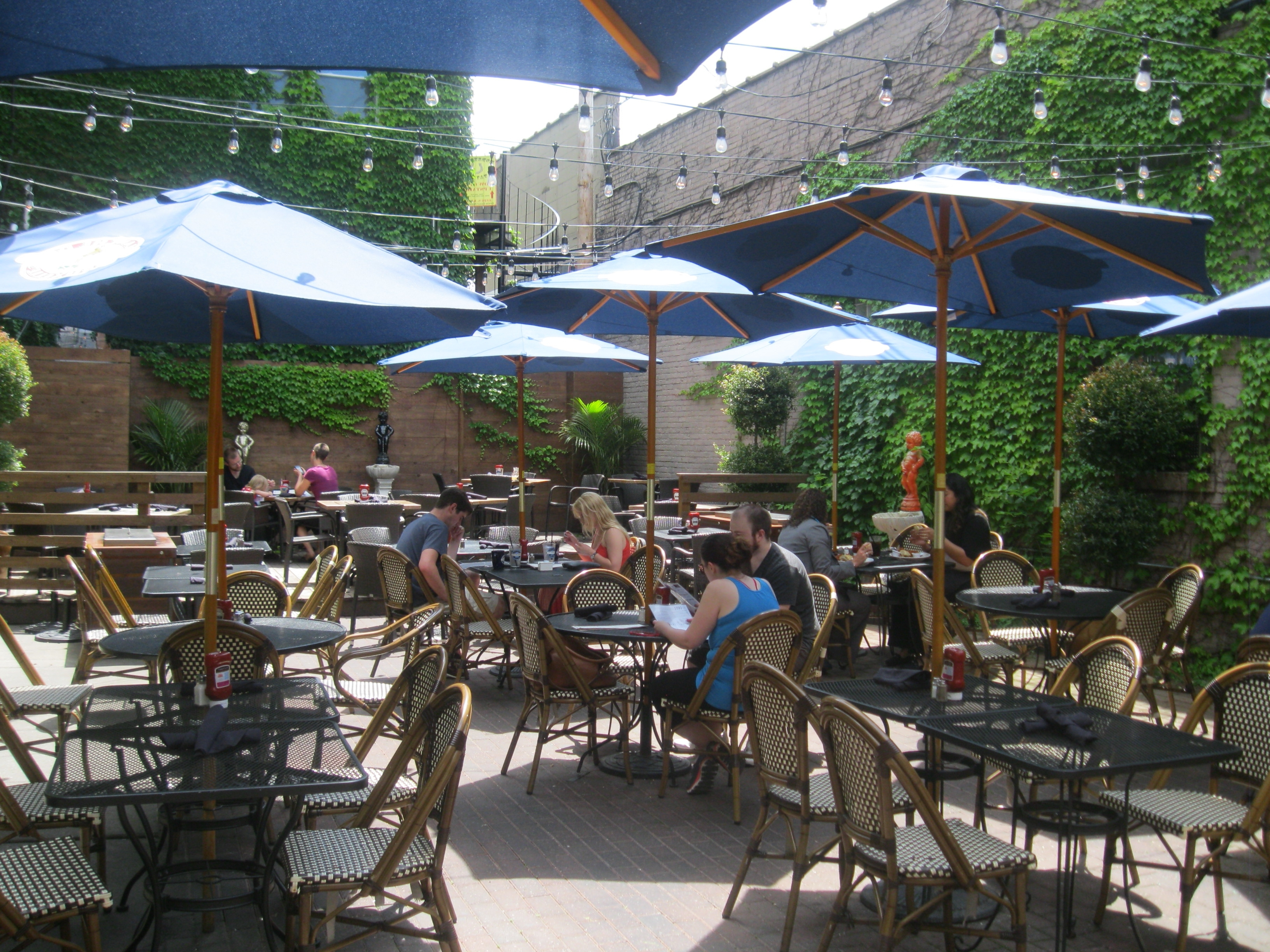 2018 Dining: 50 Great Places For Patio Dining » Urban Milwaukee With Regard To Patio Dining Umbrellas (View 1 of 20)