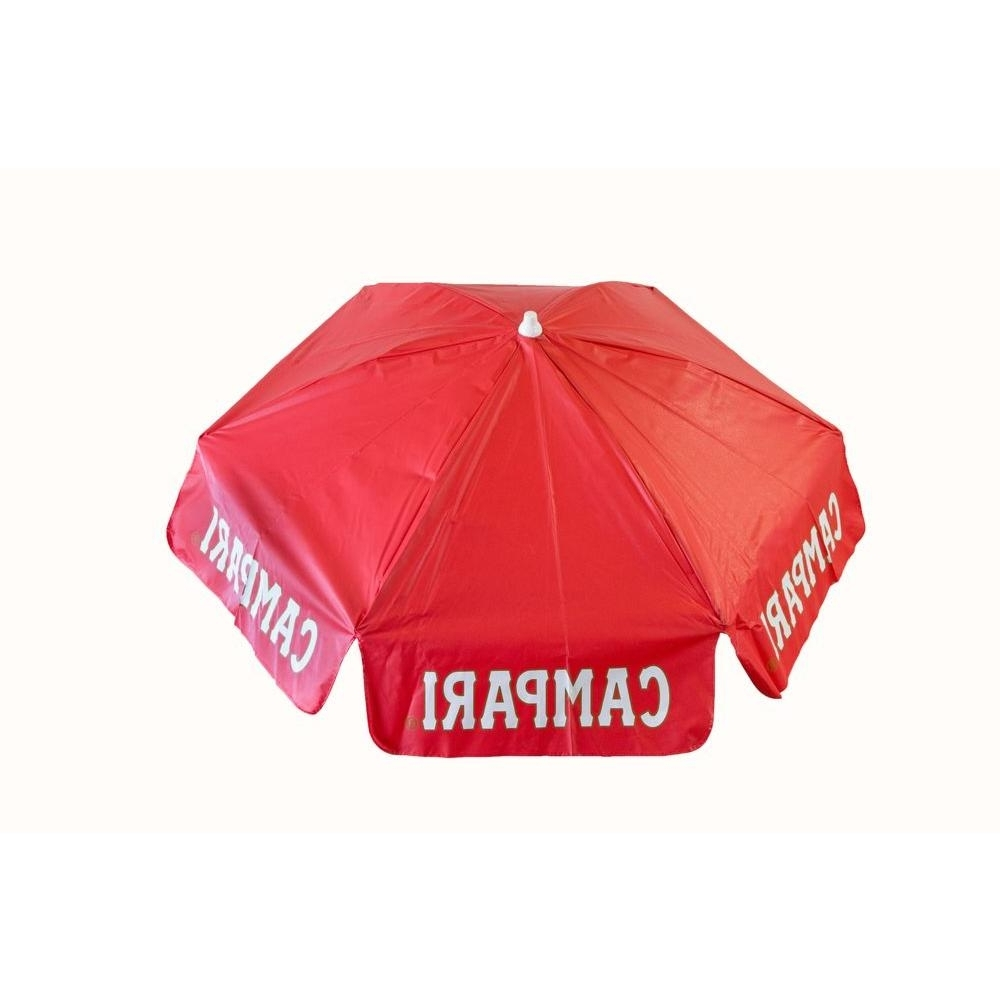 2018 Drape Patio Umbrellas Regarding Destinationgear Campari 6 Ft. Aluminum Tilt Patio Umbrella In Red (Gallery 16 of 20)