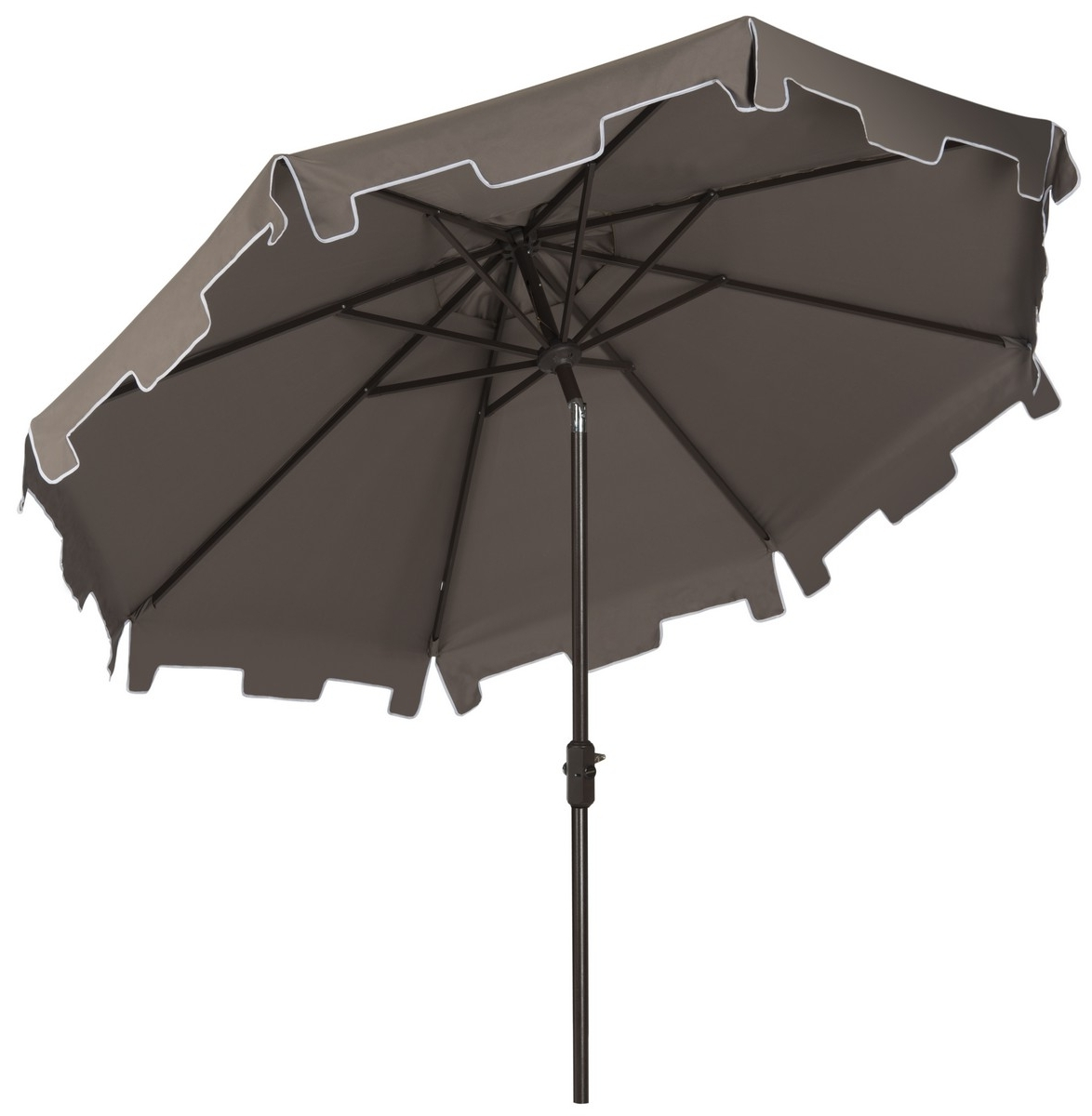 2018 Grey Patio Umbrellas Throughout Grey Patio Umbrella (View 3 of 20)
