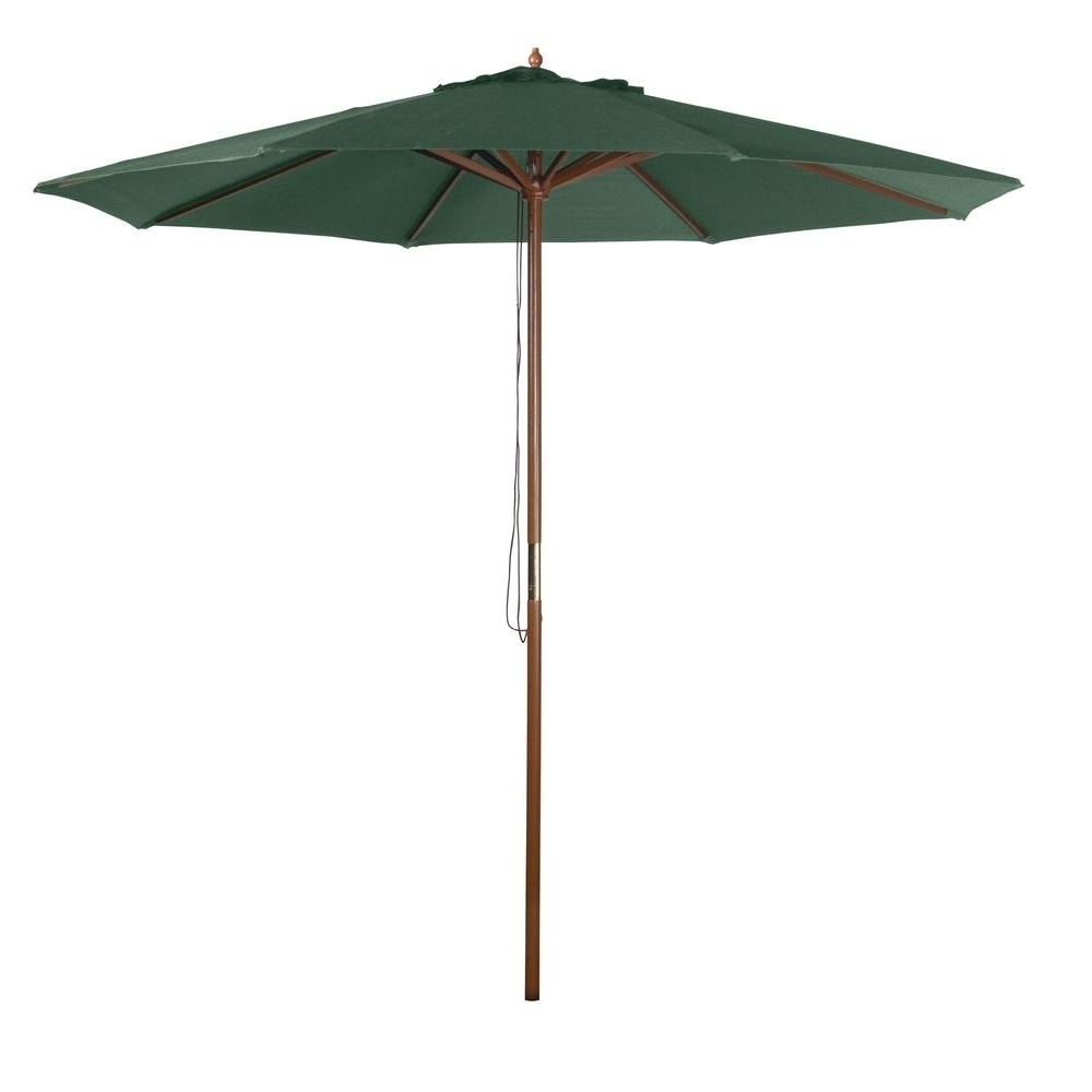 2018 Home Depot Patio Umbrellas Throughout 9Ft Patio Umbrella (Gallery 14 of 20)