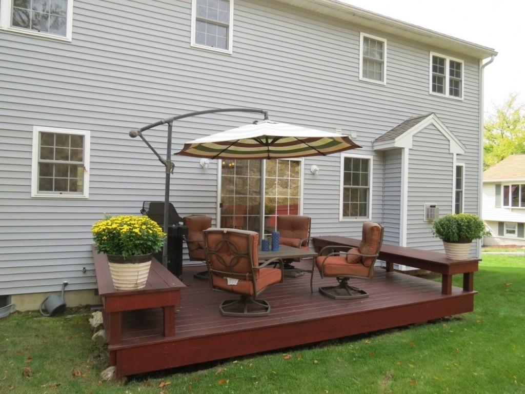 2018 Patio Furniture Sets With Umbrella Stroller (View 19 of 20)