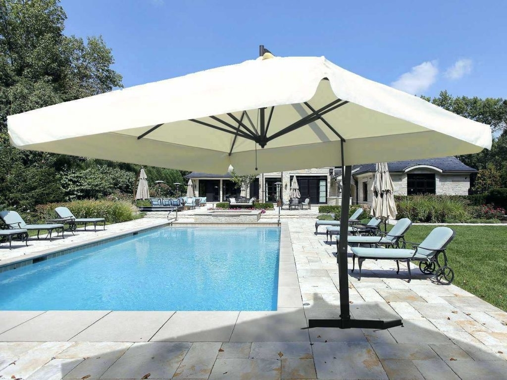 2018 Patio Ideas ~ Nice Patio Ideas Furniture Ideal Patio Umbrellas Patio With Regard To Extra Large Patio Umbrellas (View 3 of 20)