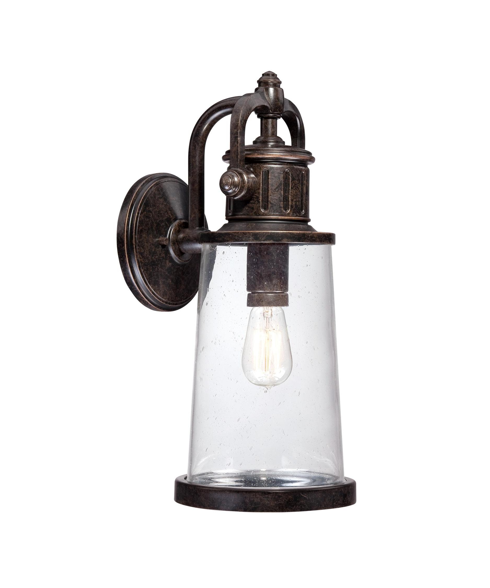 2018 Quoizel Sdn8408 Steadman 8 Inch Wide 1 Light Outdoor Wall Light Inside Quoizel Outdoor Lanterns (Gallery 7 of 20)