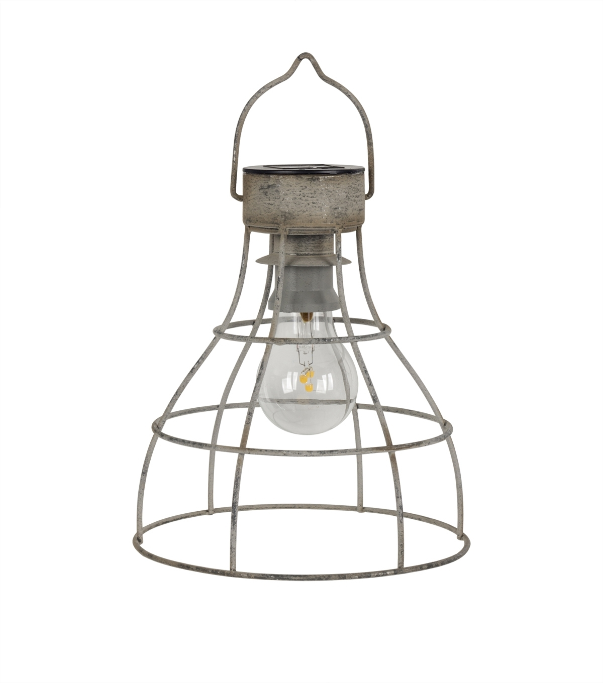 2018 Seaport Metal Solar Lantern Decor (Gallery 9 of 20)
