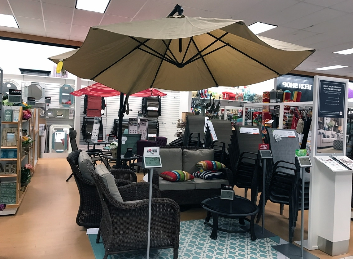2018 Sonoma Patio Umbrella, As Low As $ (View 1 of 20)