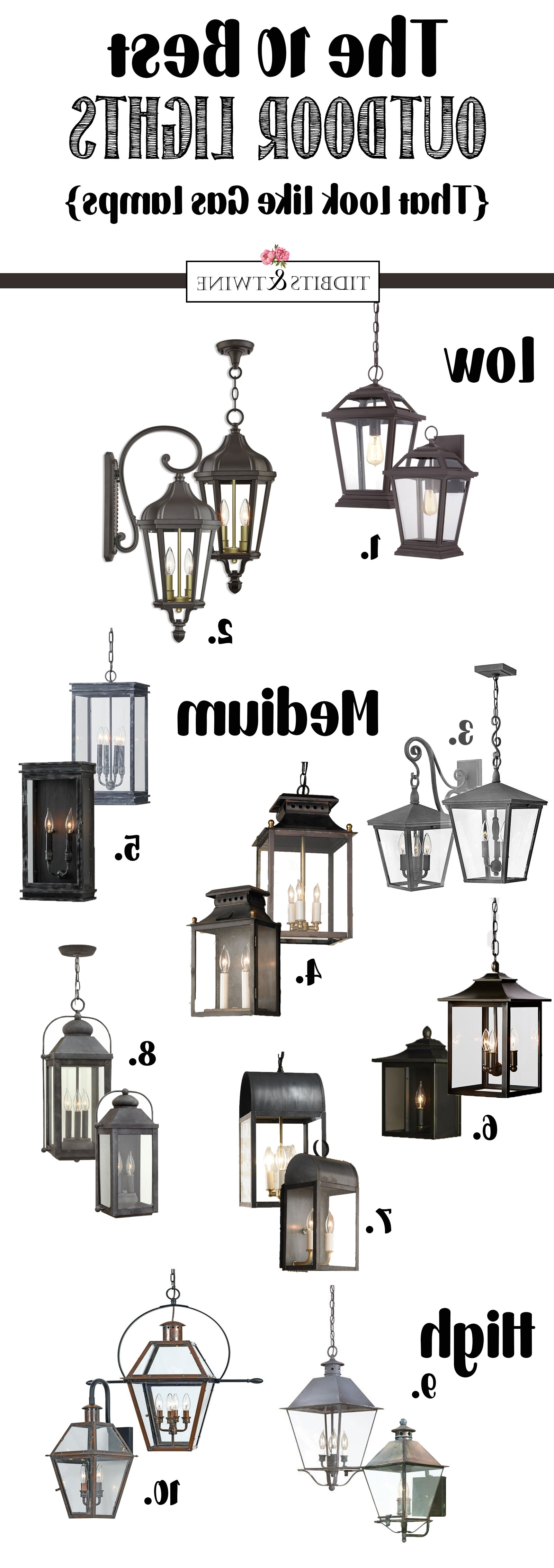 2018 The Best Outdoor French Hanging Lanterns (View 2 of 20)