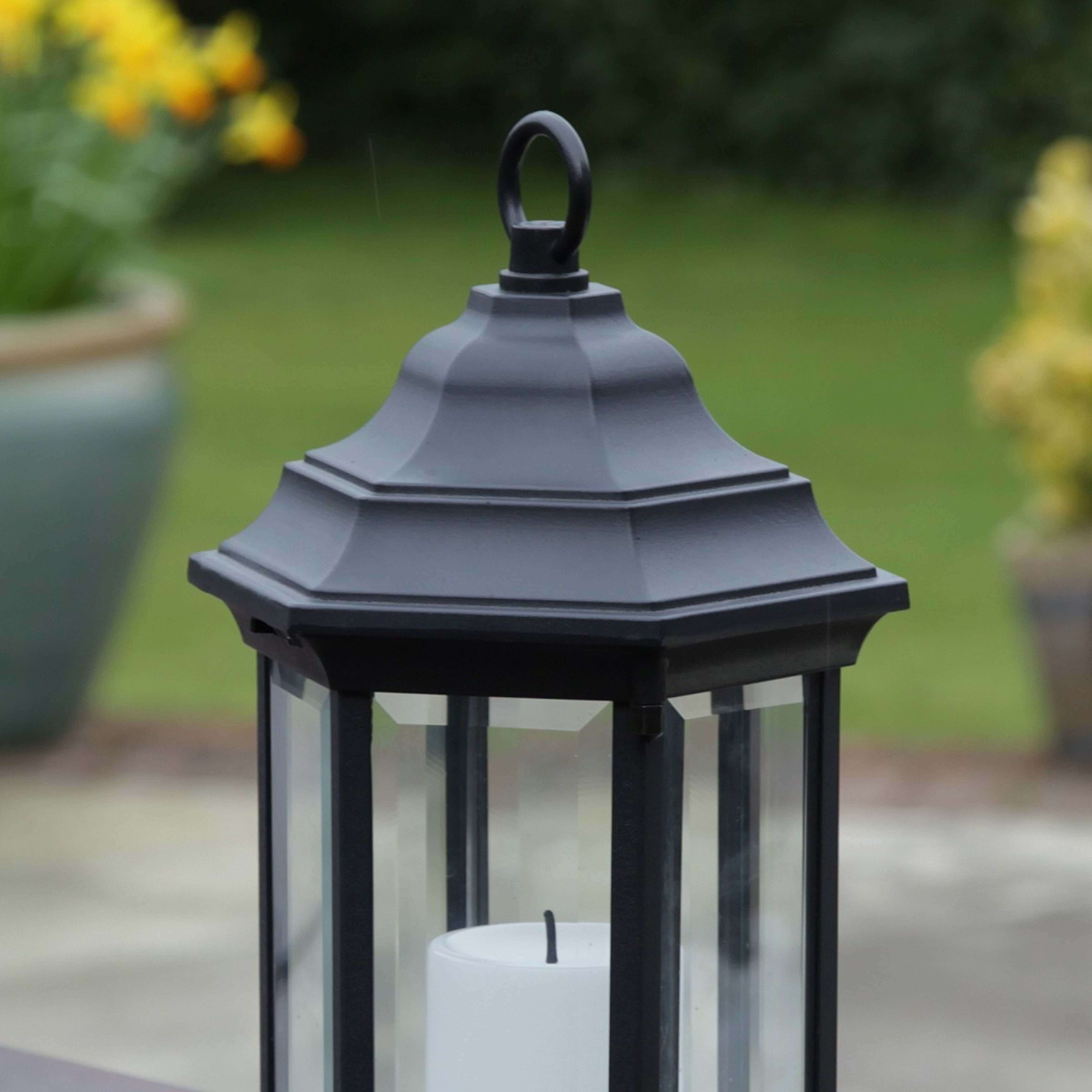 2019 Battery Operated Outdoor Lanterns With Timer – Outdoor Ideas Pertaining To Outdoor Lanterns With Timers (View 2 of 20)