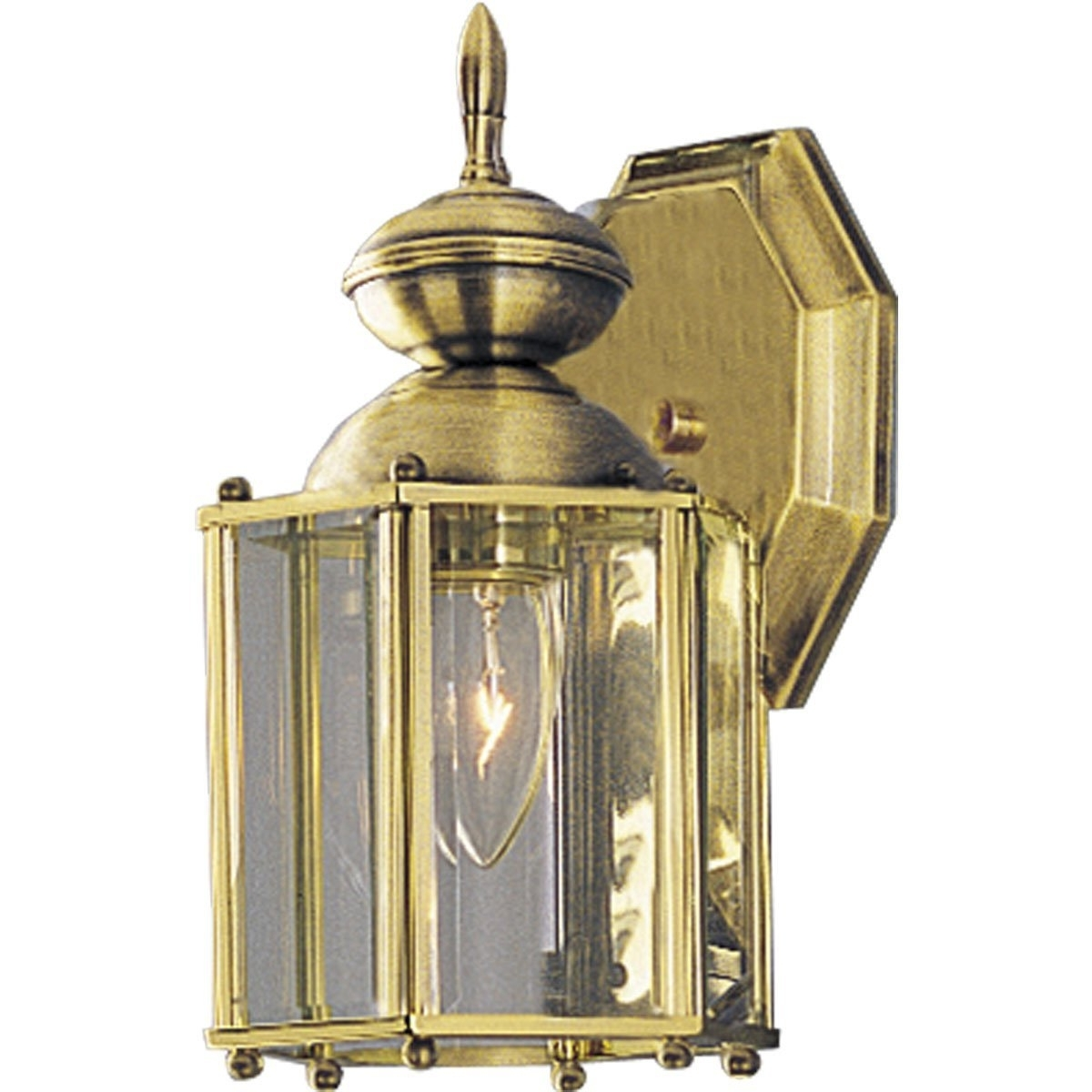 2019 Brass Outdoor Lanterns Intended For Solid Brass Outdoor Wall Lighting Step Lights Low Voltage Uk Glass (Gallery 17 of 20)