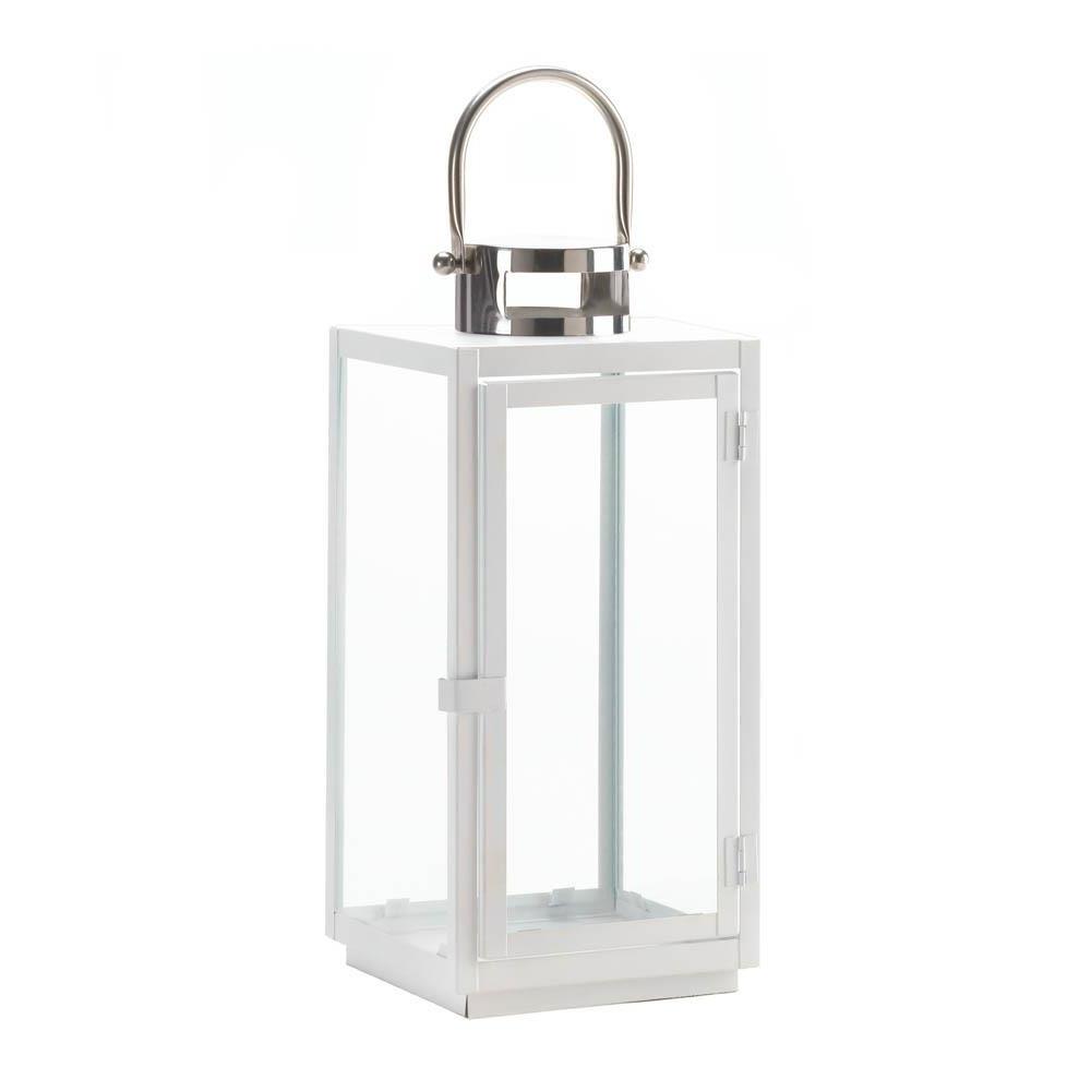 2019 Decorative Candle Lanterns, White Hanging Outdoor Large Decorative Throughout Outdoor Lanterns For Pillars (View 13 of 20)
