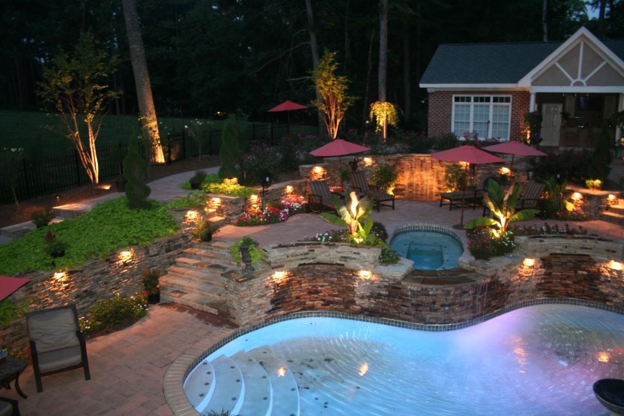 2019 Diy Outdoor Landscape Lighting Hanging Lanterns Ideas Pictures With Outdoor Pool Lanterns (View 19 of 20)