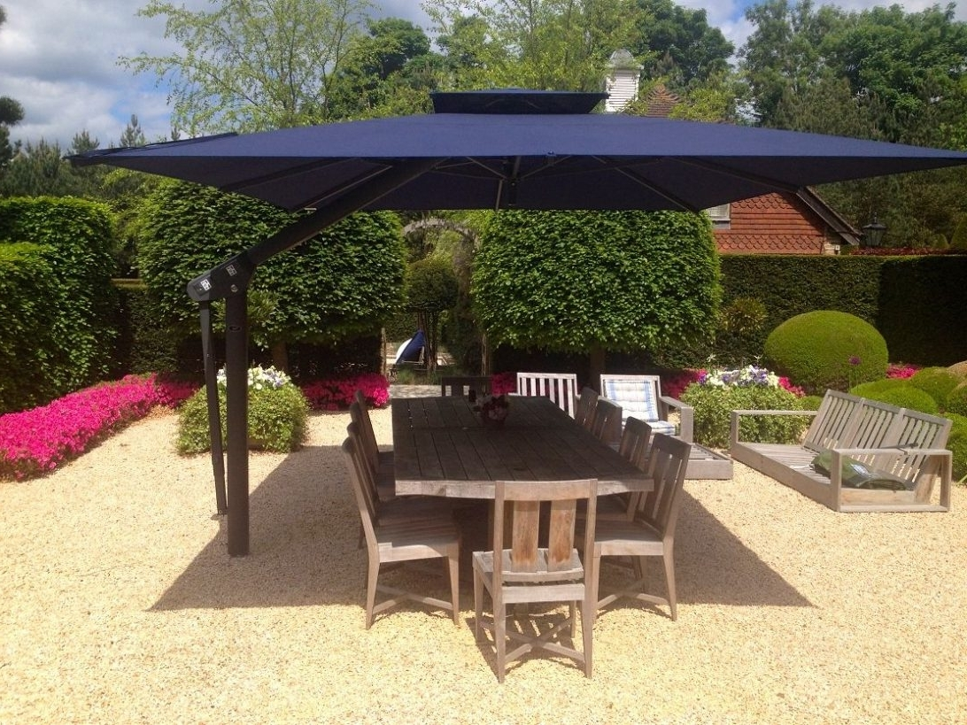 2019 European Patio Umbrellas Inside Large Outdoor Table Patio Umbrellas Dining Plans Outside Umbrella (View 2 of 20)