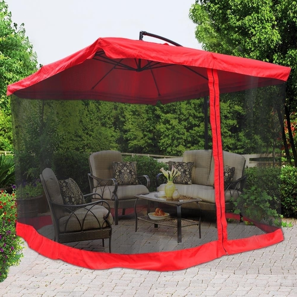 2019 Hanging Offset Patio Umbrellas Within Cheap Offset Umbrella Square, Find Offset Umbrella Square Deals On (Gallery 9 of 20)