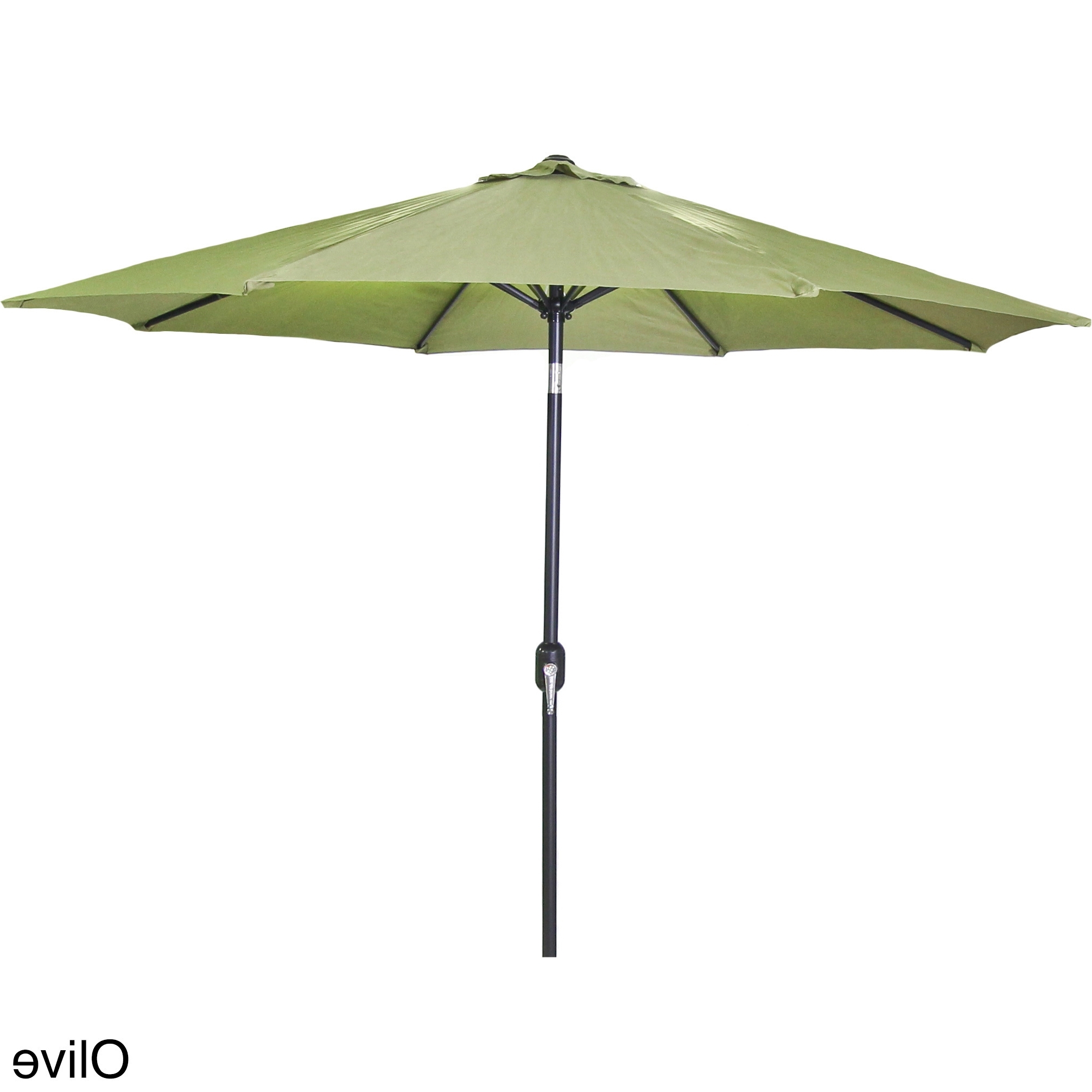 2019 Jordan Patio Umbrellas In Shop Jordan Manufacturing 9 Foot Steel Market Umbrella – Free (Gallery 2 of 20)