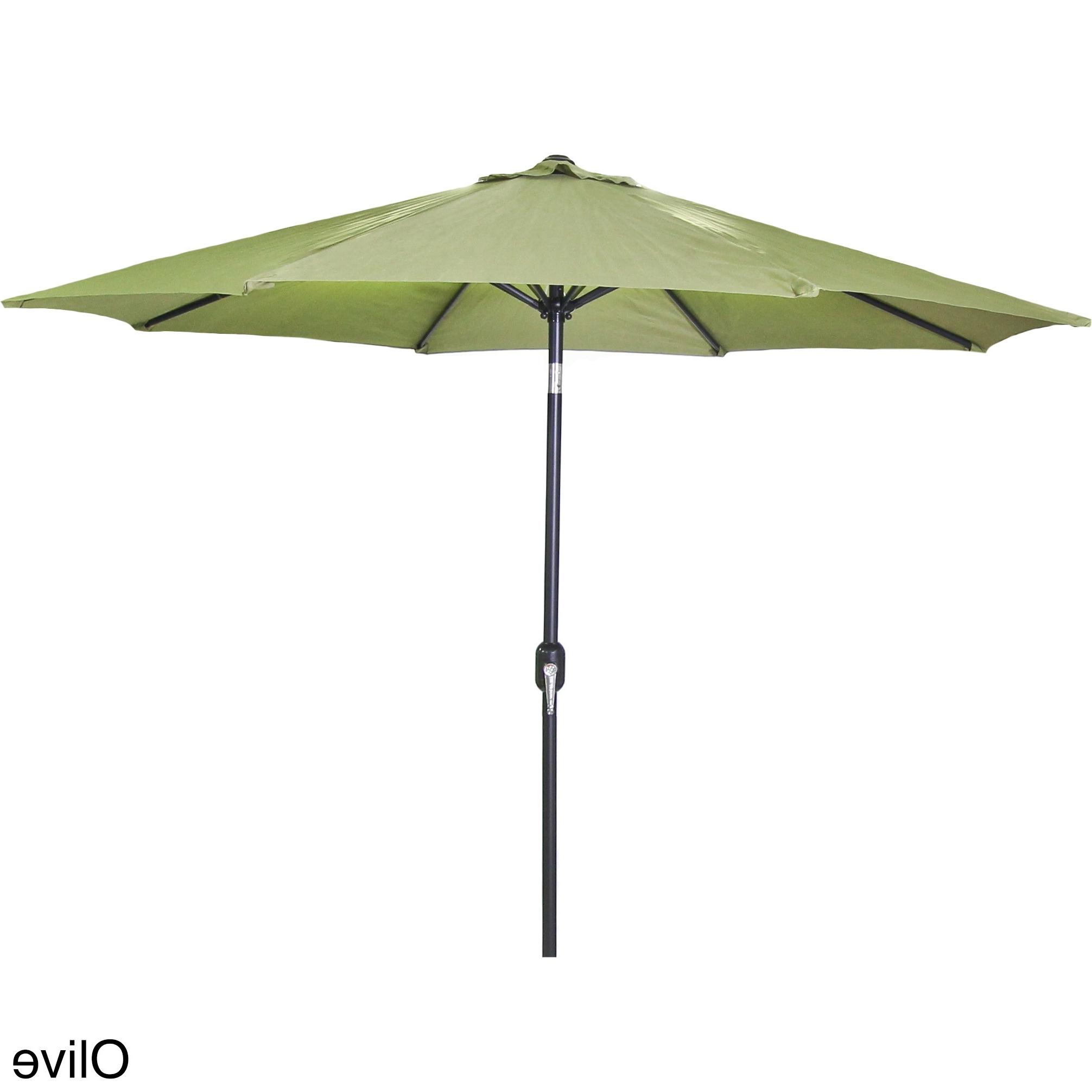 2019 Jordan Patio Umbrellas In Shop Jordan Manufacturing 9 Foot Steel Market Umbrella – Free (View 1 of 20)