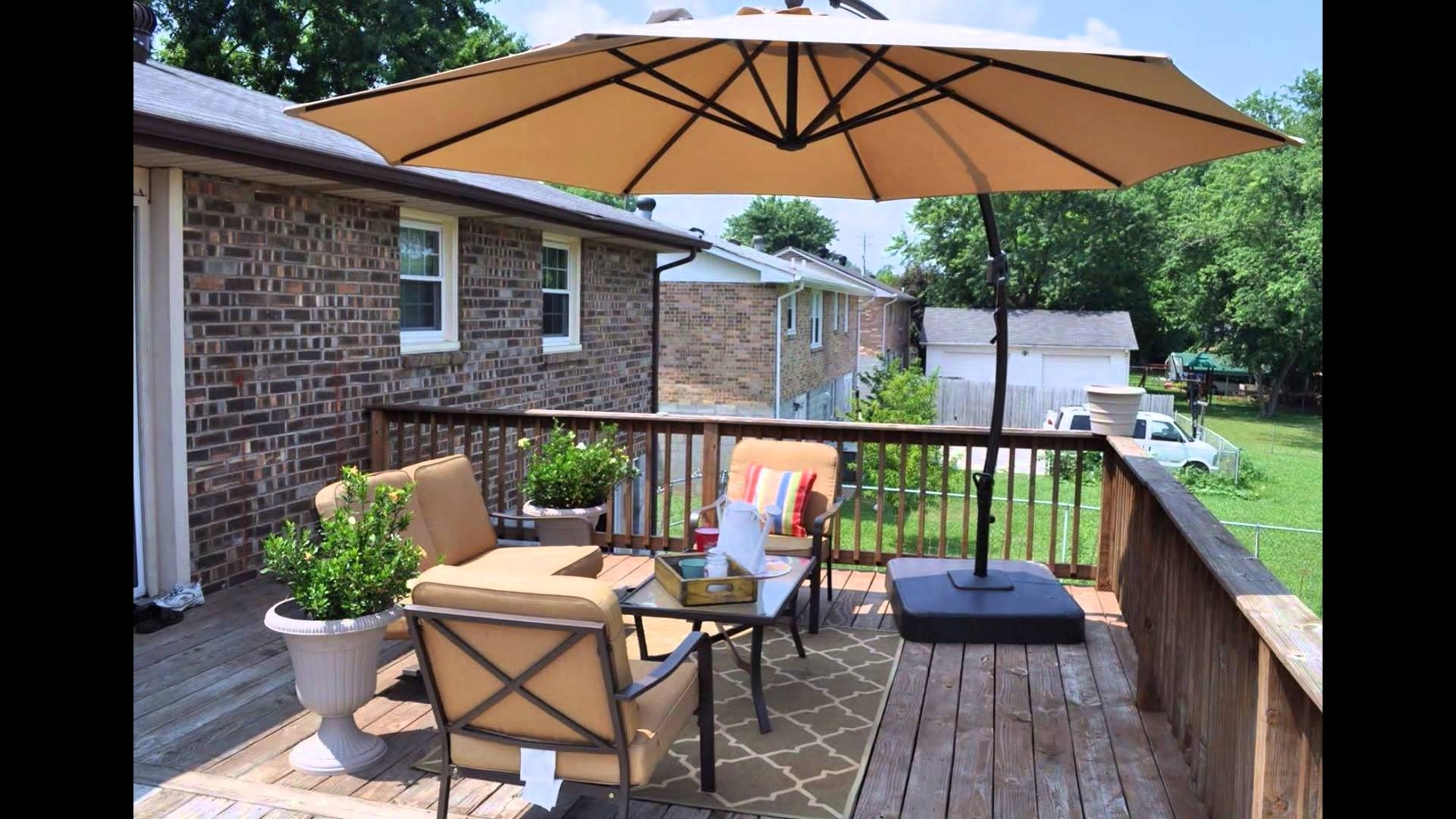 2019 Lowes Patio Furniture – Youtube Within Lowes Patio Umbrellas (Gallery 20 of 20)