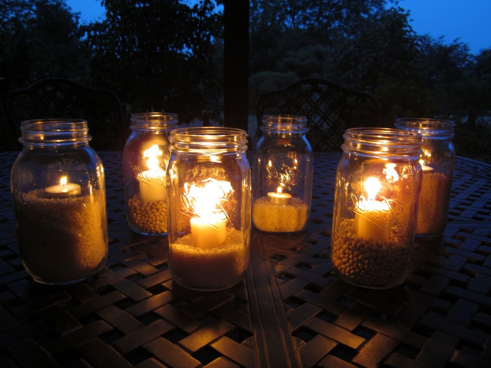 2019 Outdoor Mason Jar Lights From Great Outdoor Mason Jar Lighting With Outdoor Jar Lanterns (Gallery 1 of 20)