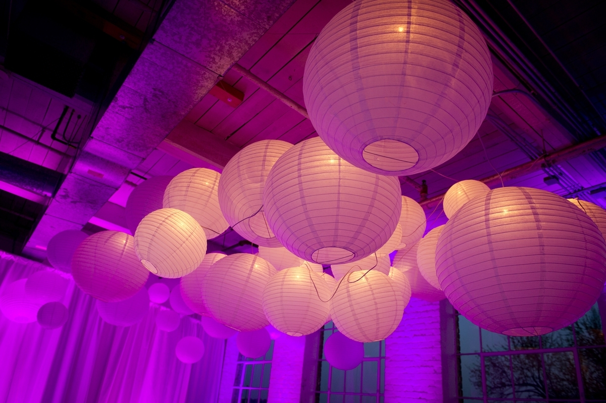2019 Outdoor Round Lanterns Intended For Creating A Unique Lighting Experience With Round Paper Lanterns (Gallery 11 of 20)