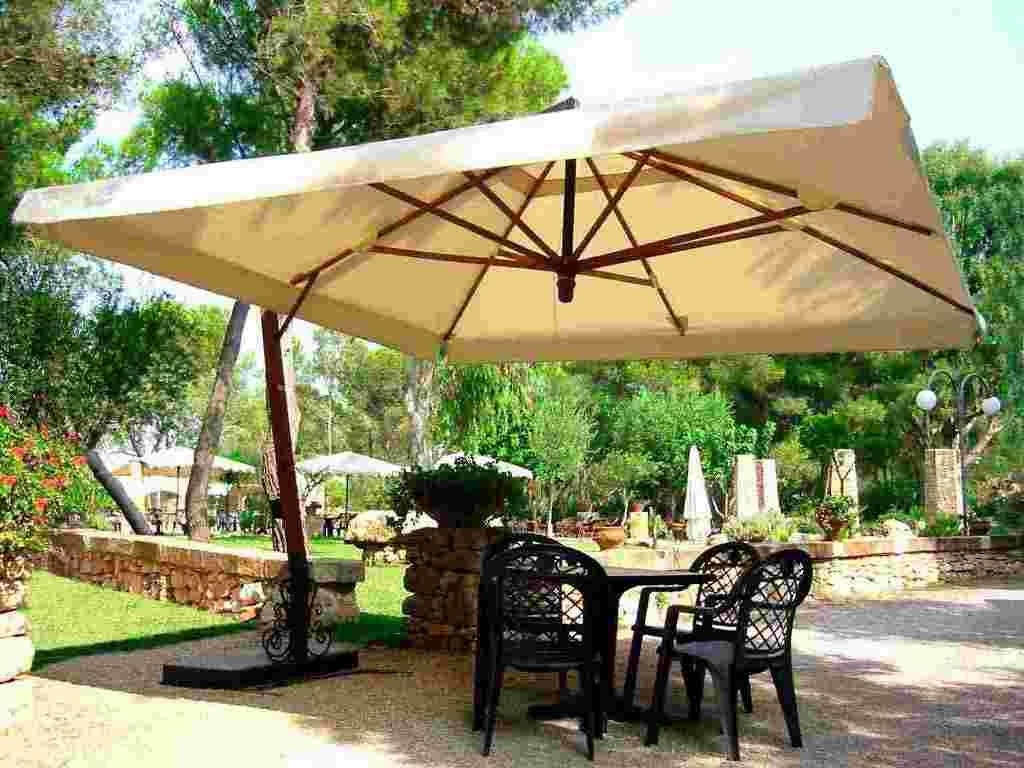 2019 Oversized Patio Umbrellas Within How To Choose Outdoor Umbrellas Right One For You (Gallery 1 of 20)