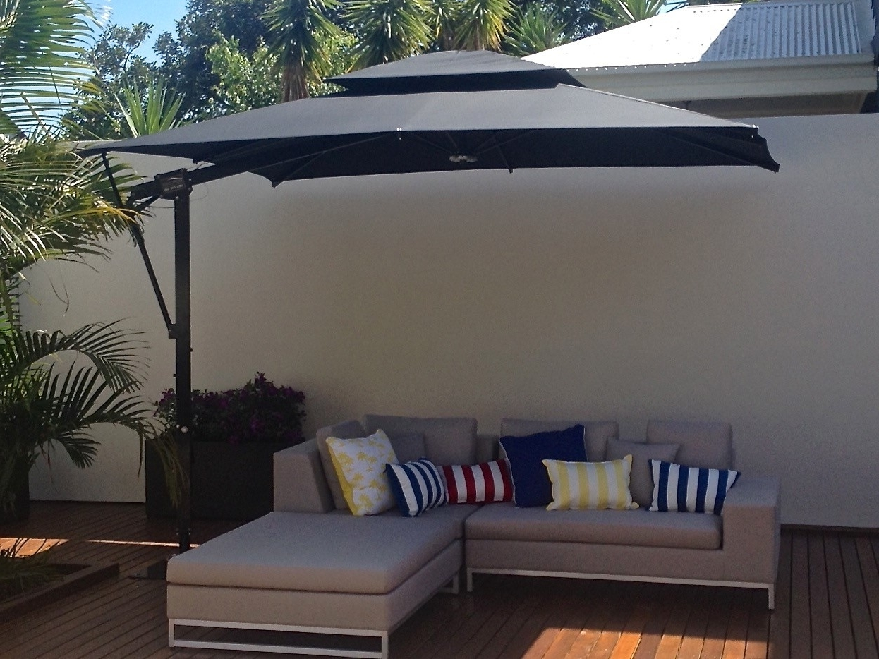2019 Patio Deck Umbrellas With Regard To Patio Deck Umbrella Mount : What Is So Great About Deck Umbrella (View 1 of 20)