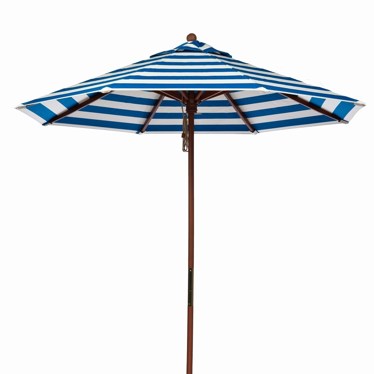 2019 Patio Umbrellas With White Pole With Navy Blue Patio Umbrella With White Pole (View 19 of 20)