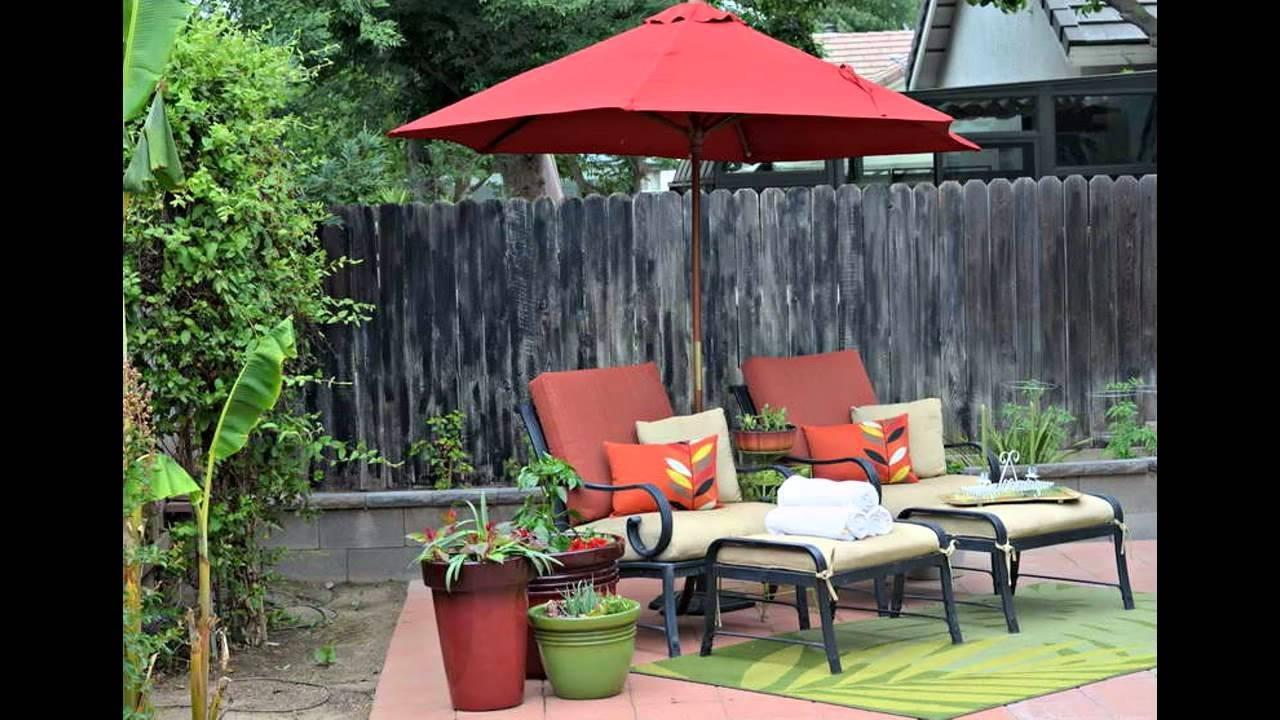 2019 Small Patio Umbrellas Within Small Patio Umbrella Design Ideas – Youtube (Gallery 1 of 20)