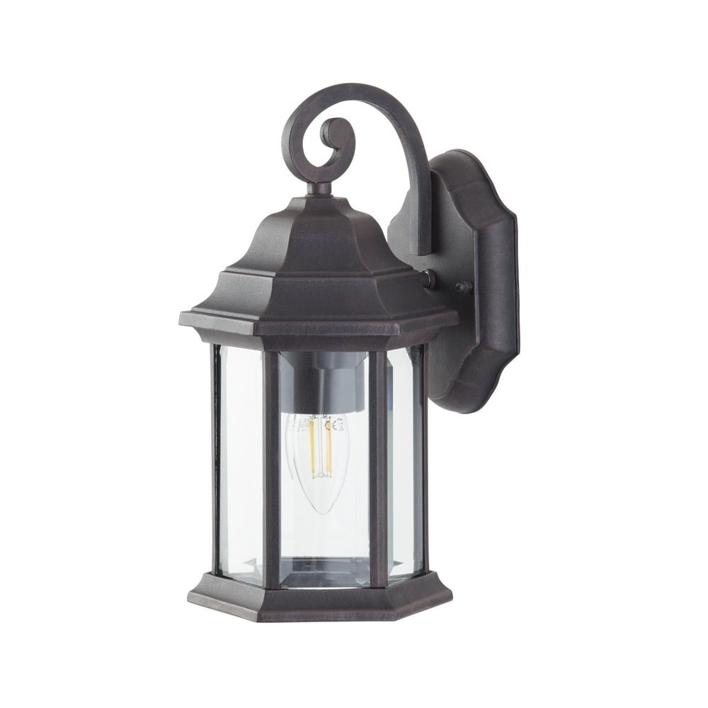 2019 Thlc Outdoor Bronze Finish Ip44 Outdoor Exterior Wall Lantern Light Throughout Outdoor Bronze Lanterns (View 3 of 20)