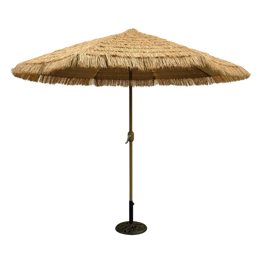 2019 Vinyl Patio Umbrellas Pertaining To Shop Patio Umbrellas At Lowes (View 2 of 20)