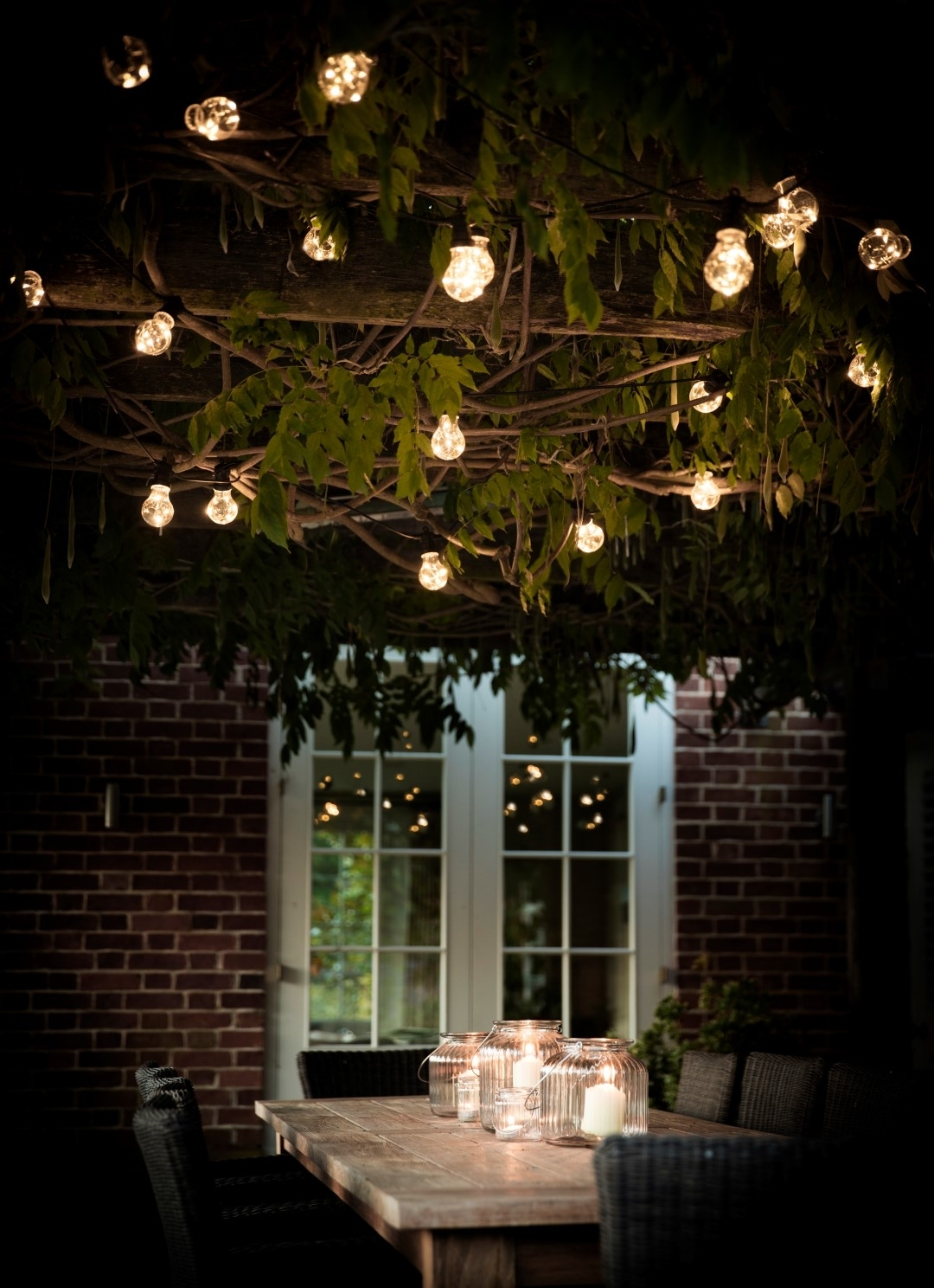 5 Garden Patio Ideas To Prepare For Outdoor Dining In Famous Outdoor Dining Lanterns (Gallery 19 of 20)