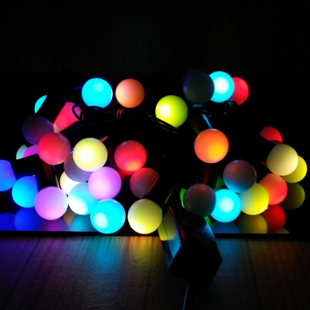 5M 20 Leds Chinese Lantern Shaped String Lamps Led Christmas Lights For Most Up To Date Outdoor Chinese Lanterns For Patio (Gallery 12 of 20)