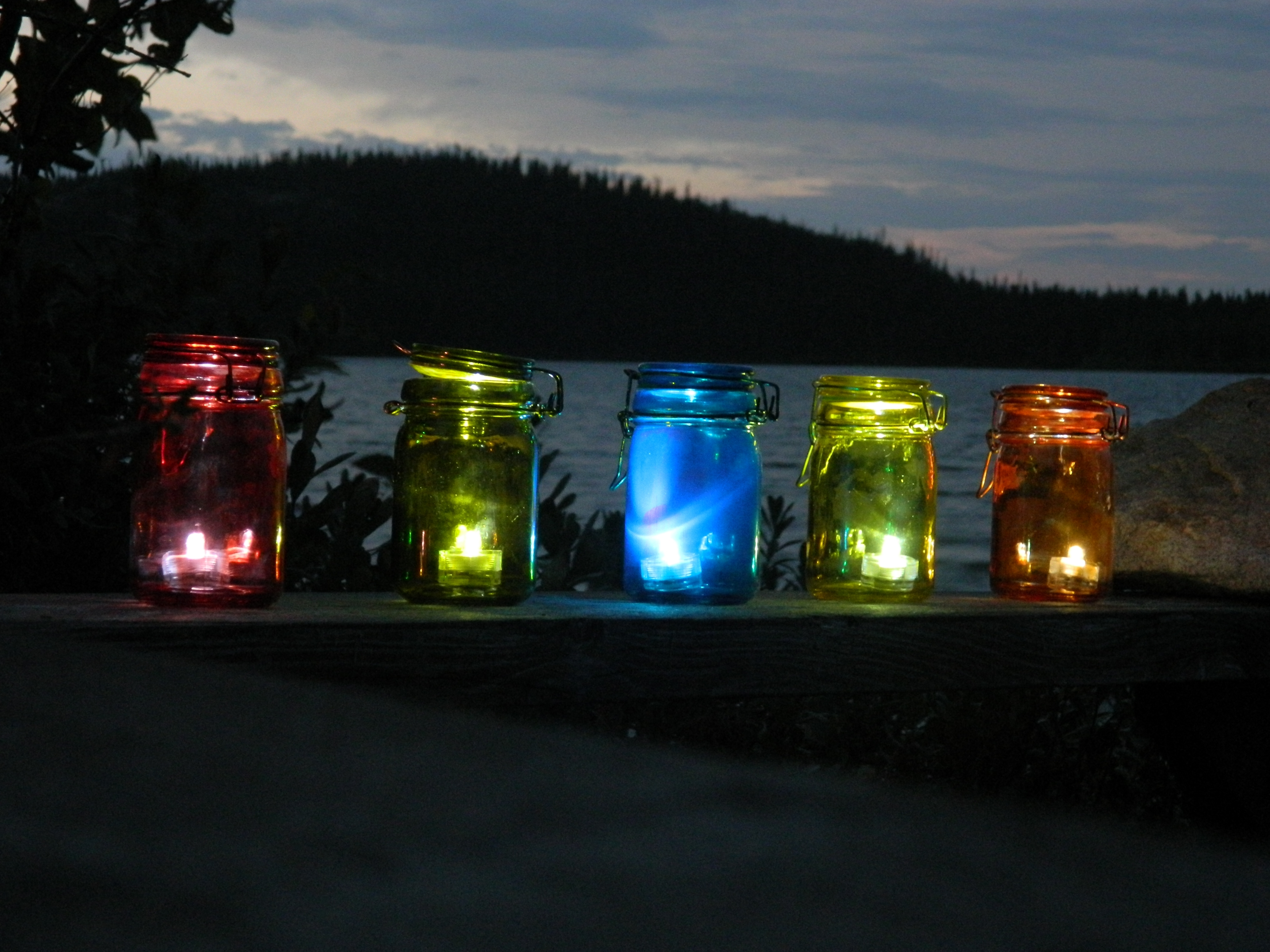 A Little Bit Of Glass Pertaining To Outdoor Tea Light Lanterns (View 4 of 20)
