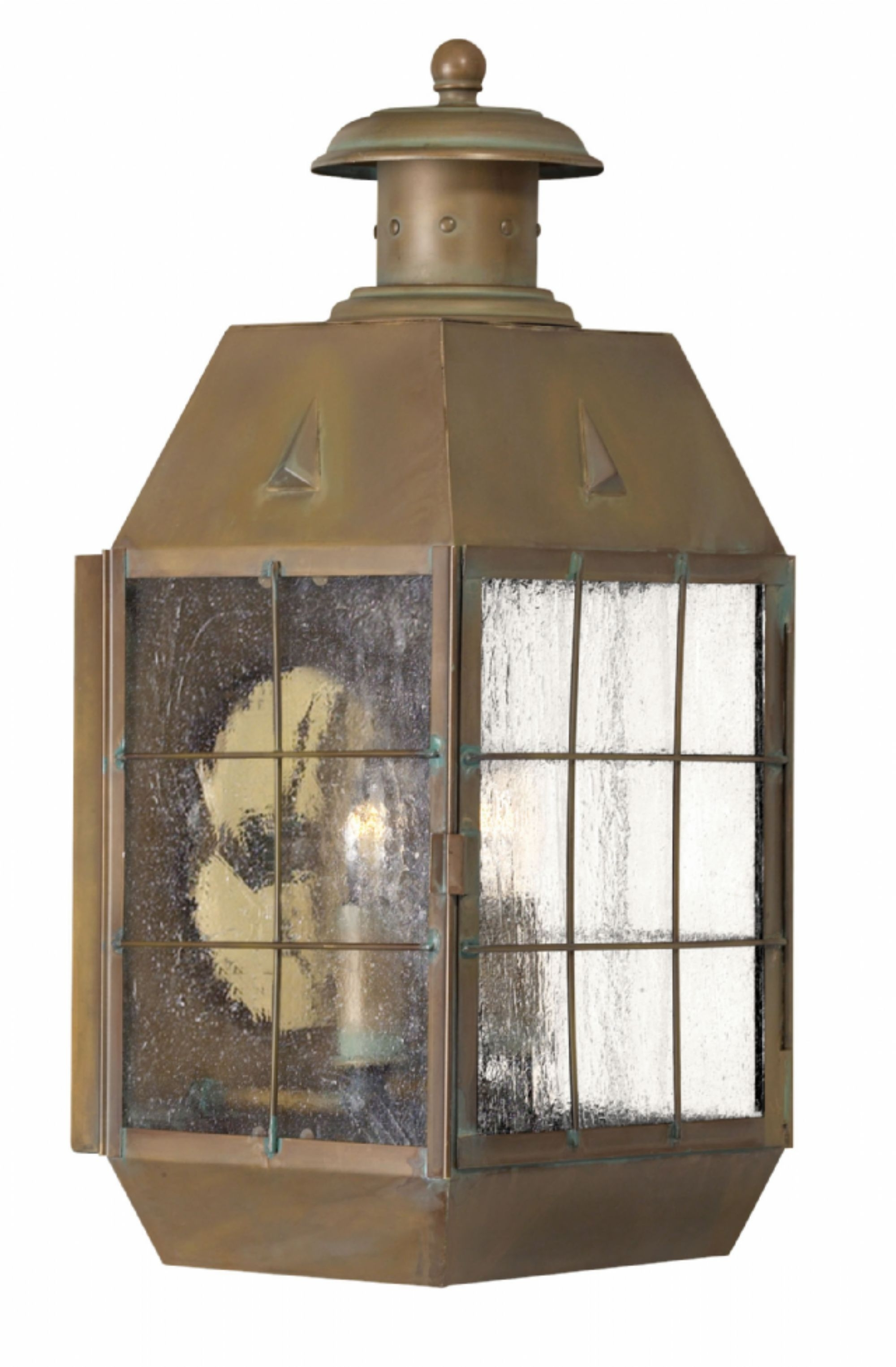 Aged Brass Nantucket > Exterior Wall Mount With Regard To Most Current Nantucket Outdoor Lanterns (View 1 of 20)