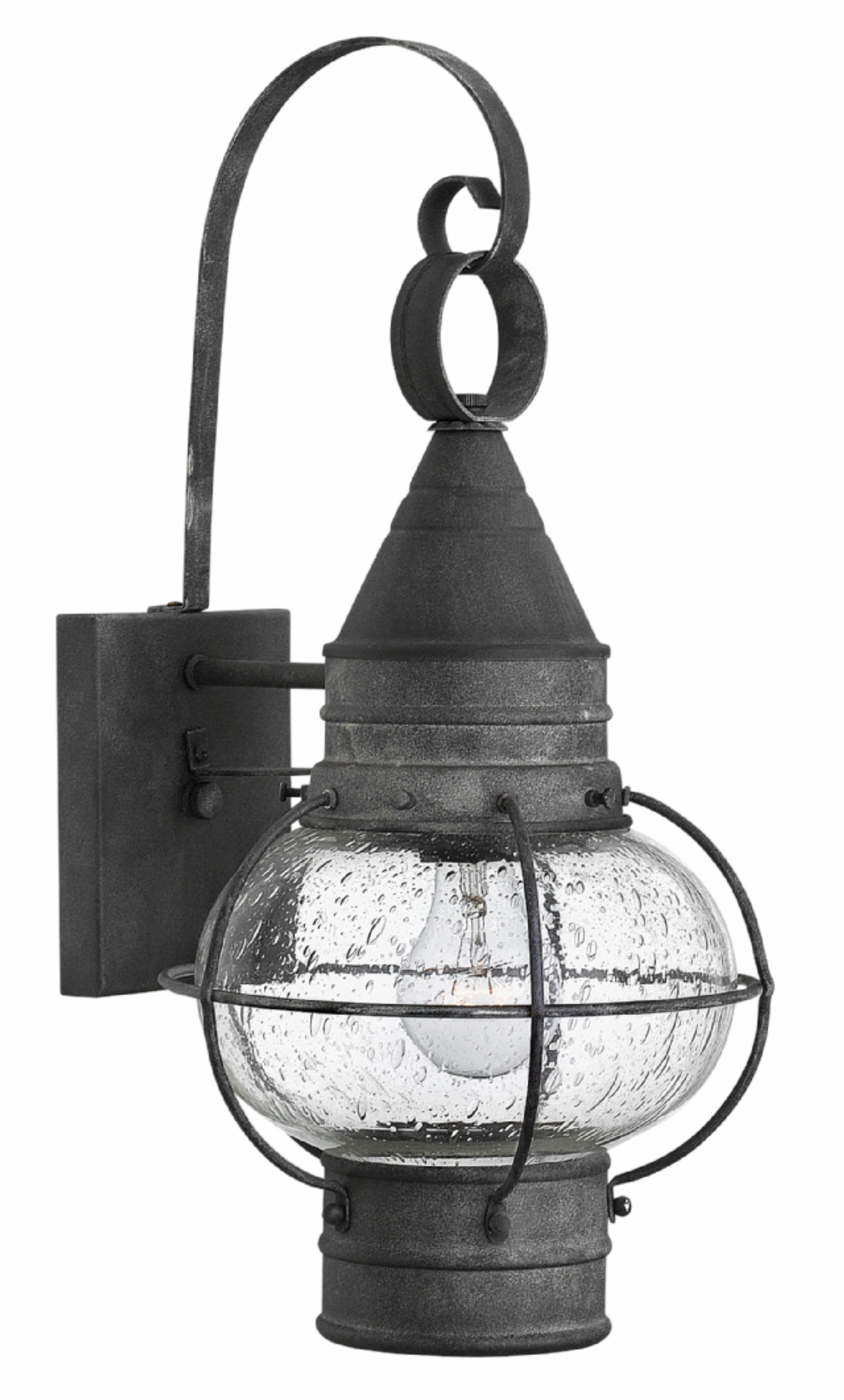 Aged Zinc Cape Cod > Exterior Wall Mount Inside Most Current Zinc Outdoor Lanterns (Gallery 18 of 20)