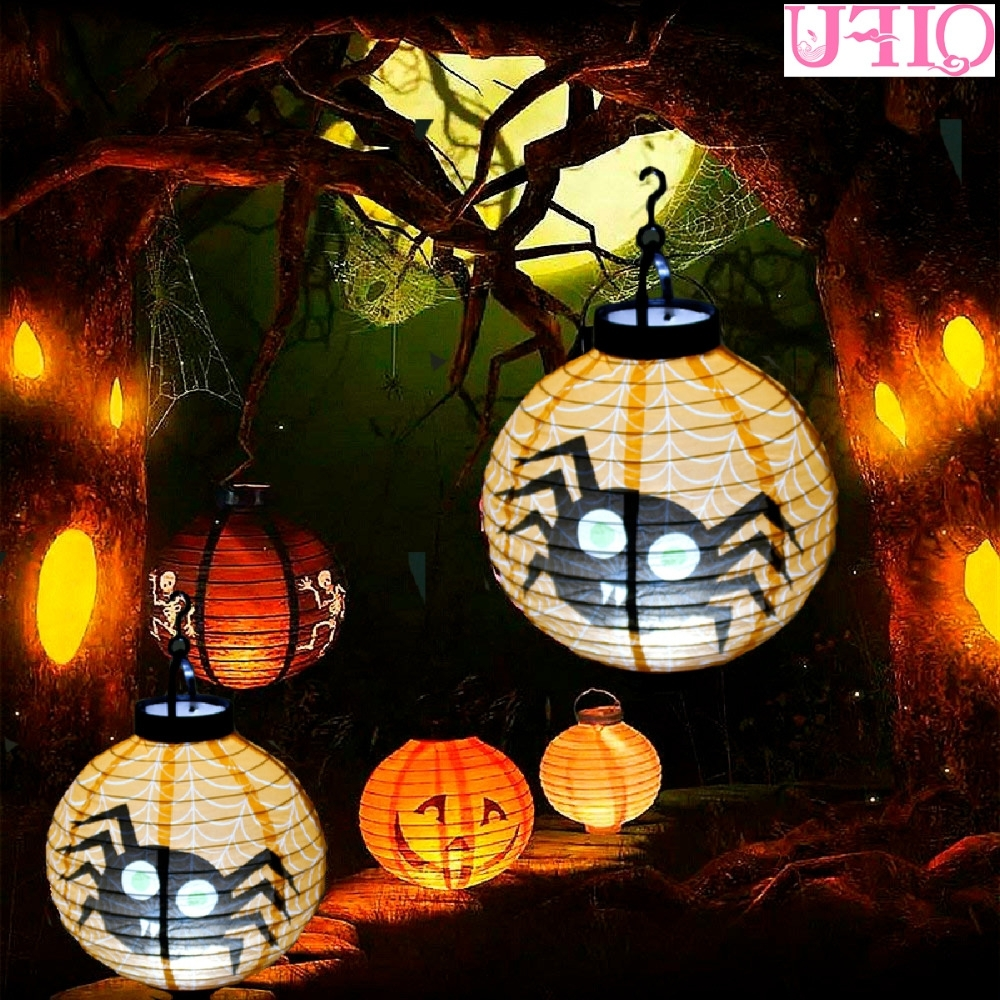 Aliexpress : Buy Qifu Battery Lantern With Light Pumpkin Within Most Current Outdoor Paper Lanterns (View 1 of 20)