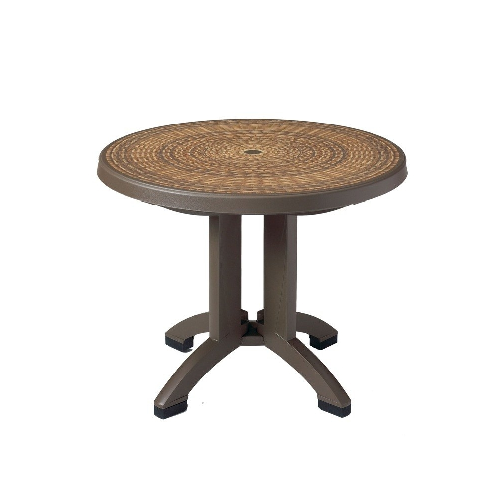 Beautiful Patio Table With Umbrella Hole Small Patio Table With Pertaining To 2019 Small Patio Tables With Umbrellas Hole (Gallery 7 of 20)