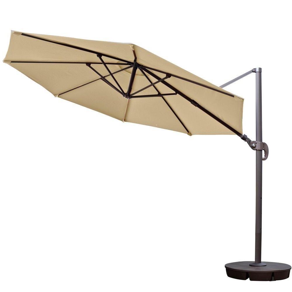Best And Newest Cantilever Patio Umbrellas Regarding Island Umbrella Freeport 11 Ft (View 17 of 20)