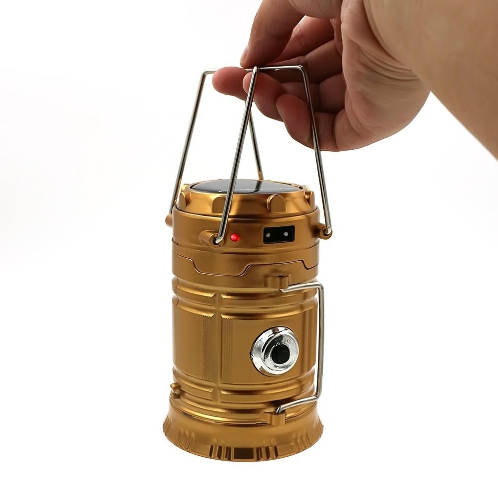 Best And Newest Classic Style Leds Rechargeable Hand Lamp Collapsible Solar Camping For Plug In Outdoor Lanterns (View 19 of 20)