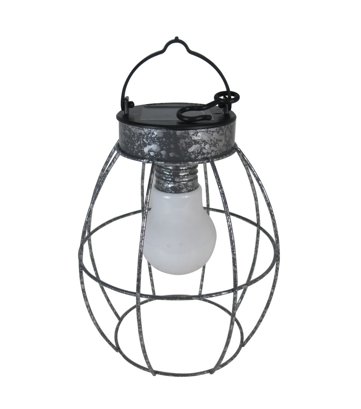 Best And Newest Joanns Outdoor Lanterns With Seaport Galvanized Round Solar Lantern (Gallery 12 of 20)
