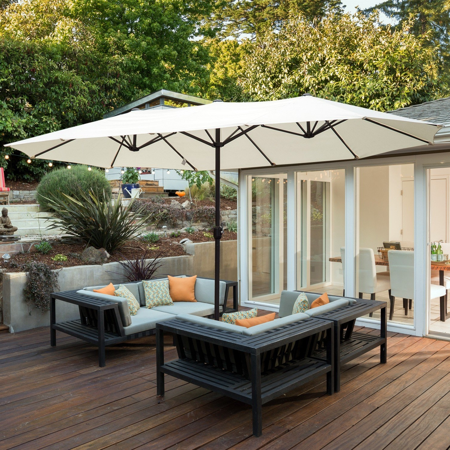 Best And Newest Made In The Shade: 4 Ways To Add Backyard Sun Protection (View 2 of 20)