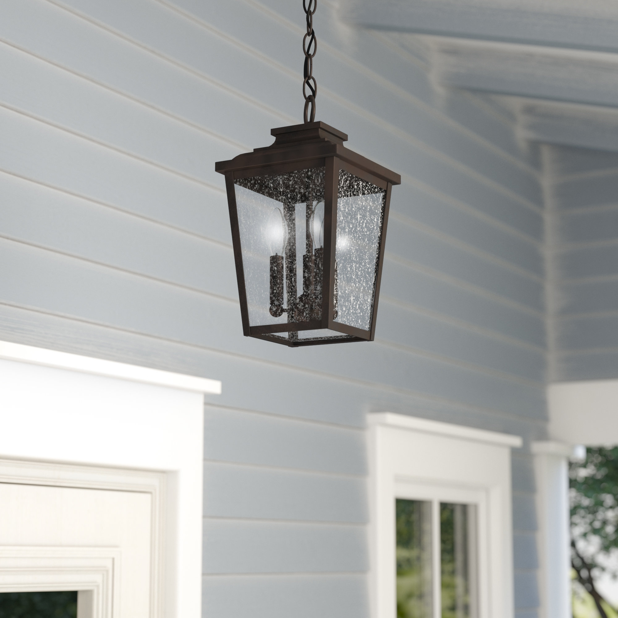 Best And Newest Outdoor Hanging Japanese Lanterns With Regard To Outdoor Hanging Lights You'll Love (View 16 of 20)