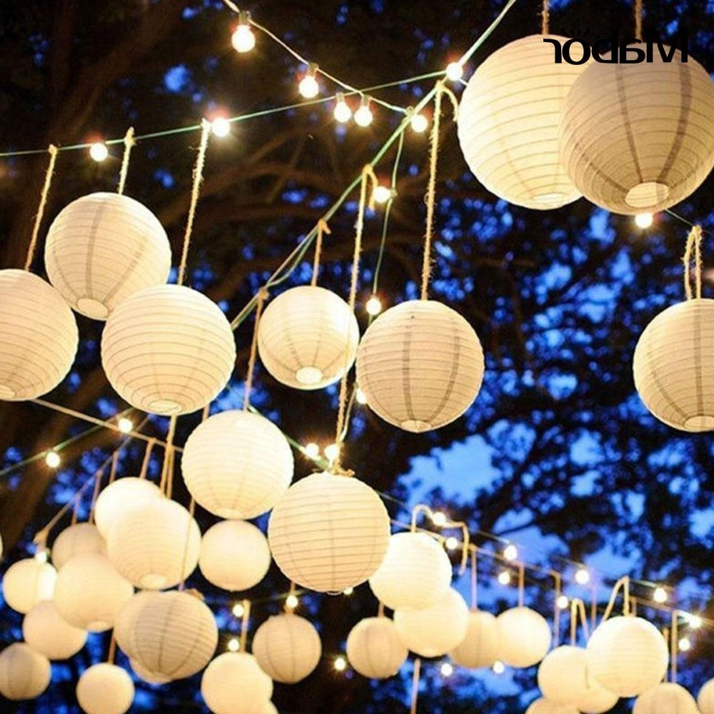 Best And Newest Outdoor Paper Lanterns Inside Chinese Lantern Classic Lantern Outdoor Paper Lantern Party Decor (View 7 of 20)