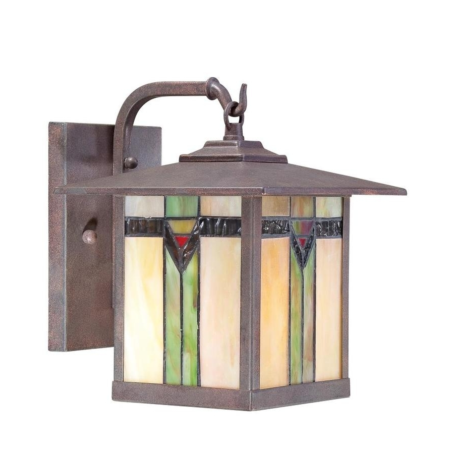 Best And Newest Shop Outdoor Wall Lights At Lowes Regarding Copper Outdoor Electric Lanterns (View 2 of 20)