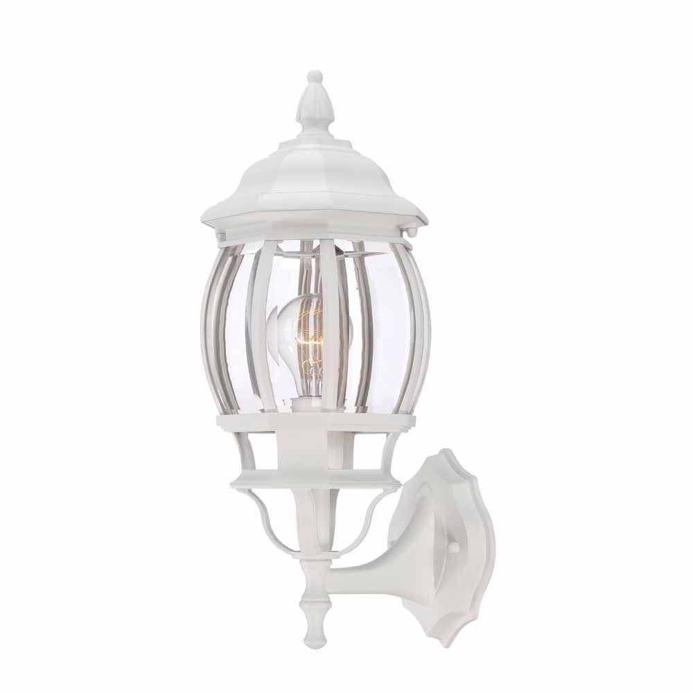 Best And Newest White – Waterproof – Outdoor Wall Mounted Lighting – Outdoor For Waterproof Outdoor Lanterns (View 20 of 20)