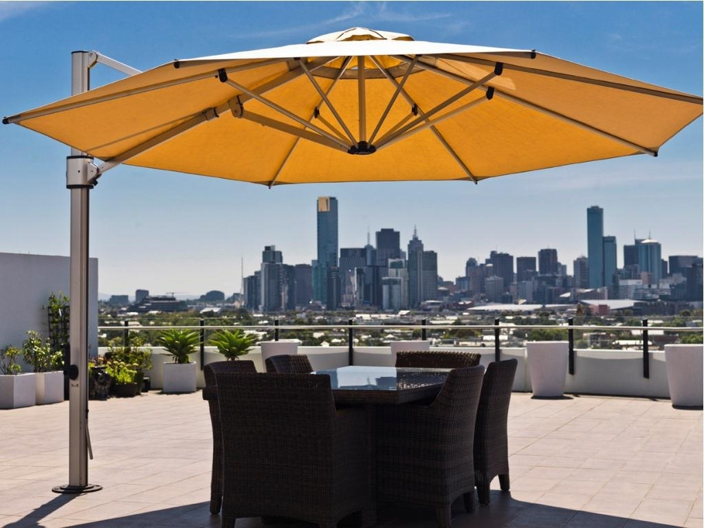 Best Rated Offset Patio Umbrella Designs (View 2 of 20)