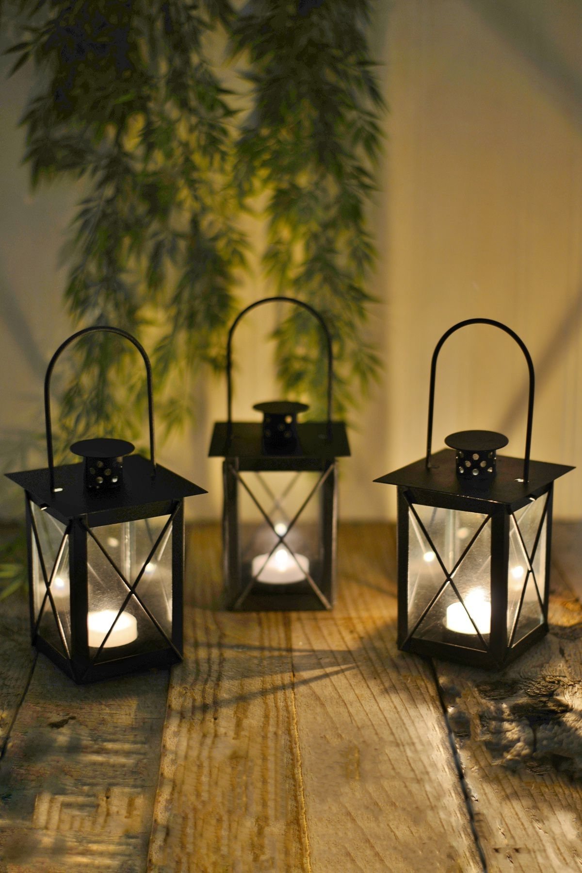 Featured Photo of Outdoor Tea Light Lanterns