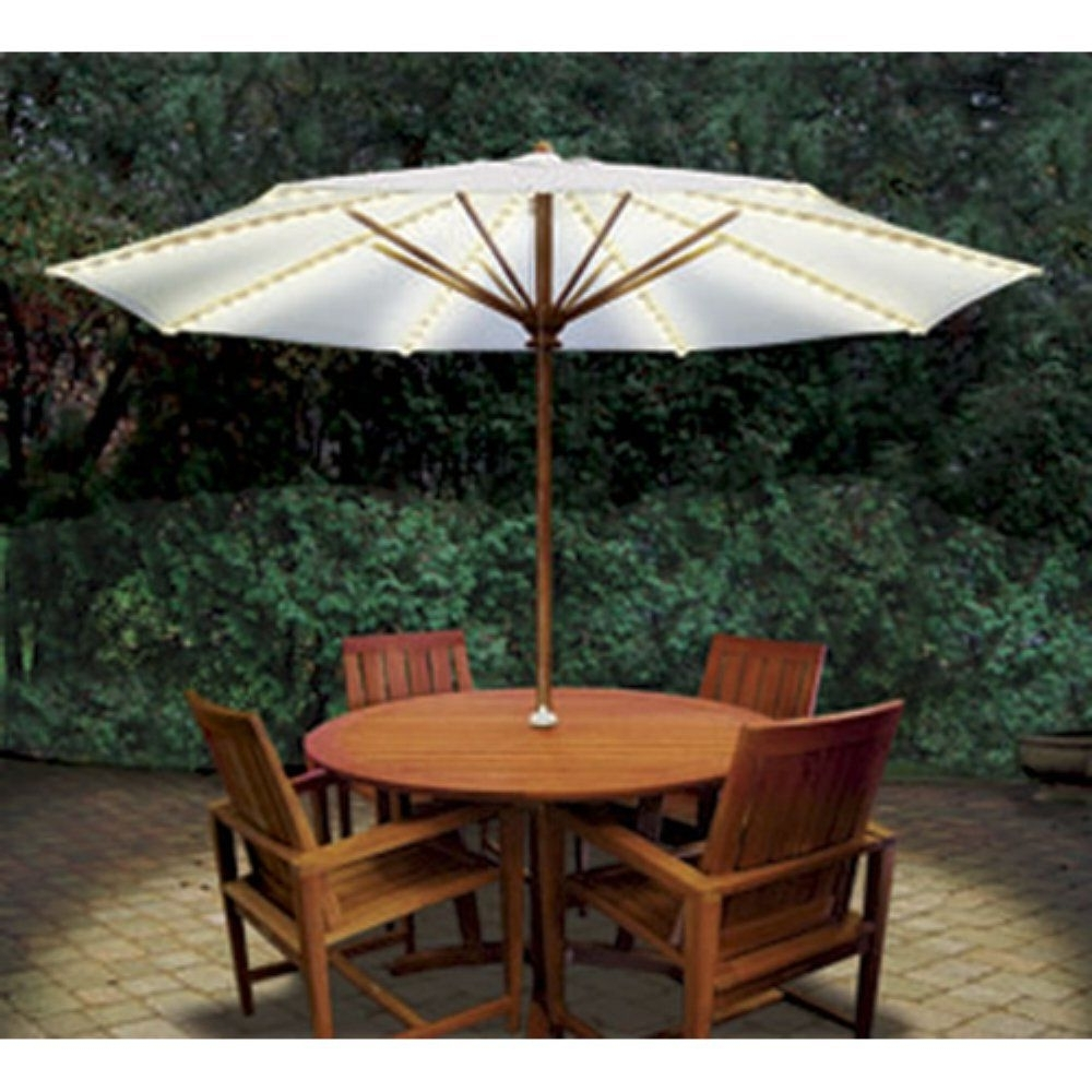 Brella Lights® Patio Umbrella Lighting System With Power Pod – Gi Regarding Preferred Unusual Patio Umbrellas (Gallery 18 of 20)