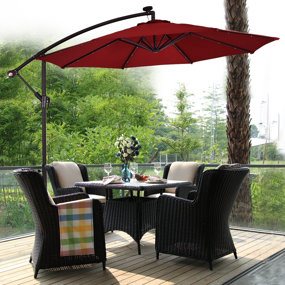 Buy Patio Umbrellas Online At Overstock (View 2 of 20)