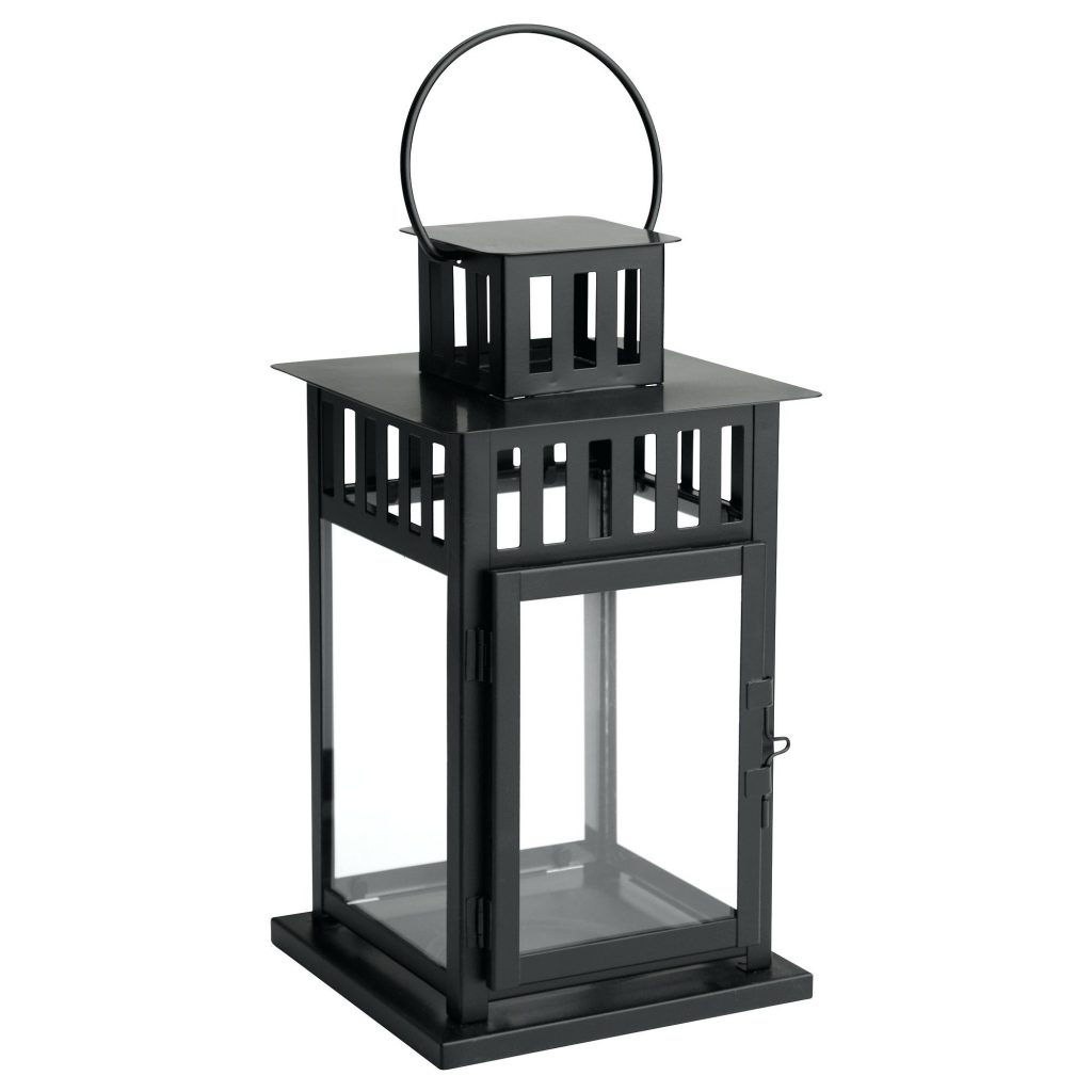 Candles ~ Flameless Candle Lanterns Lantern For Block Black Indoor Pertaining To Most Up To Date Outdoor Luminara Lanterns (View 5 of 20)