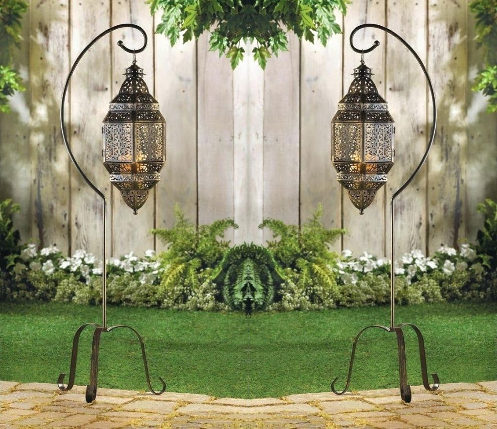 Candles ~ Moroccan Hanging Candle Lanterns Suppliers And With Current Moroccan Outdoor Lanterns (View 1 of 20)